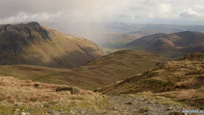 Langdale from Bow Fell