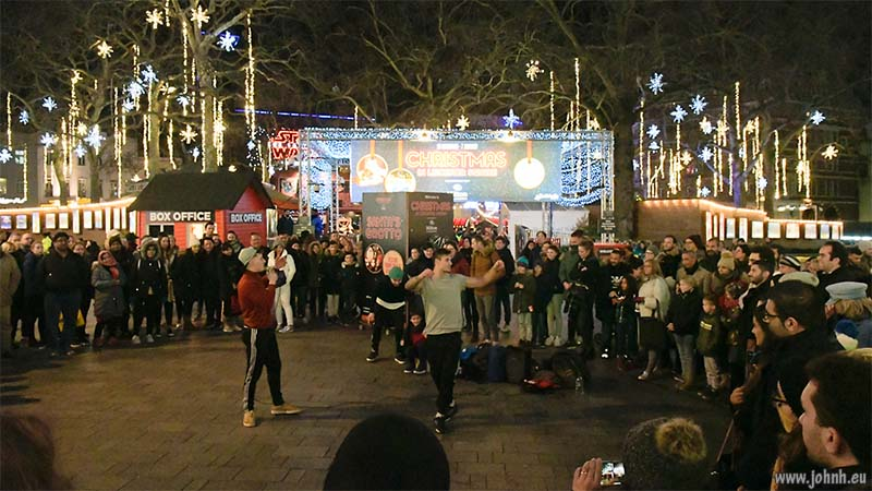 Twelfth Night in Leicester Square, London