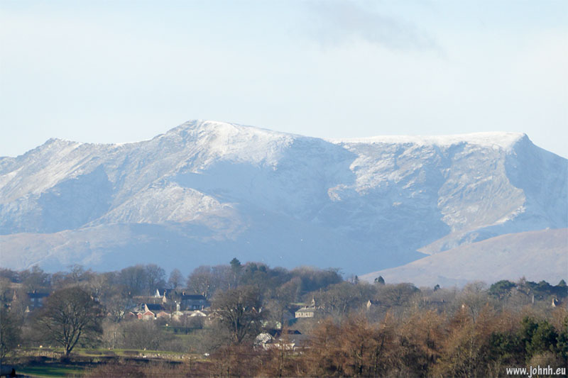 Blencathra from Penrith