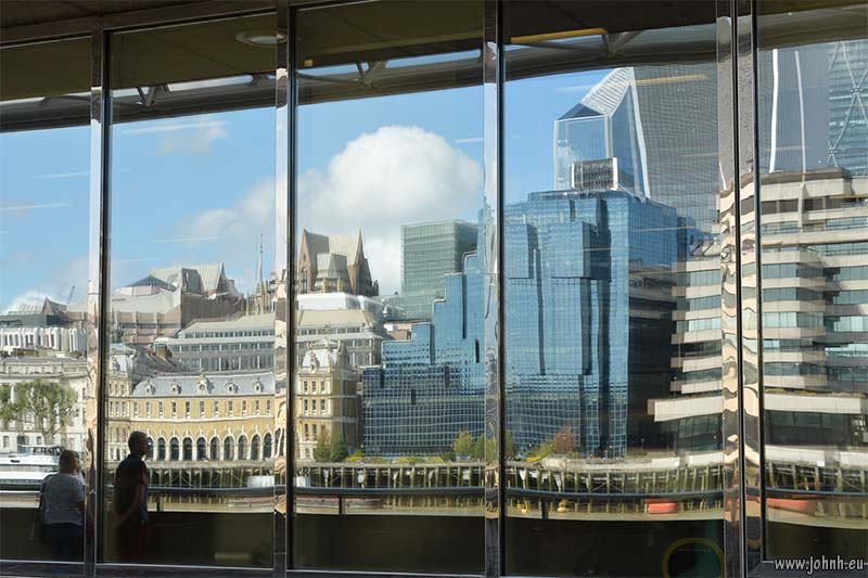 Reflections of the City of London