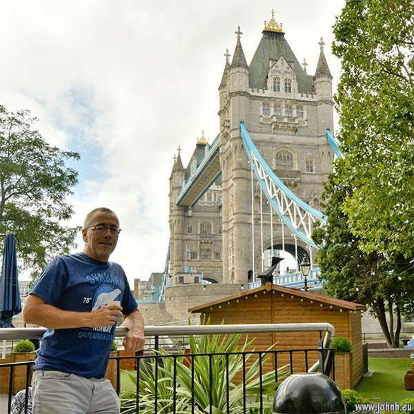 Selfie at Tower Bridge, London